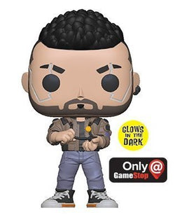 Funko Pop Games: Cyberpunk 2077 - V-Male (Gamestop)(GITD)
