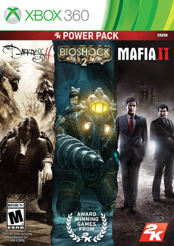 2K Power Pack Collection: The Darkness II / Bioshock 2 / Mafia II