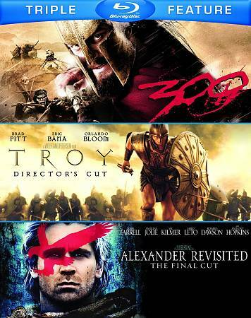 300 / Troy (Director's Cut / Alexander Revisited (The Final Cut)