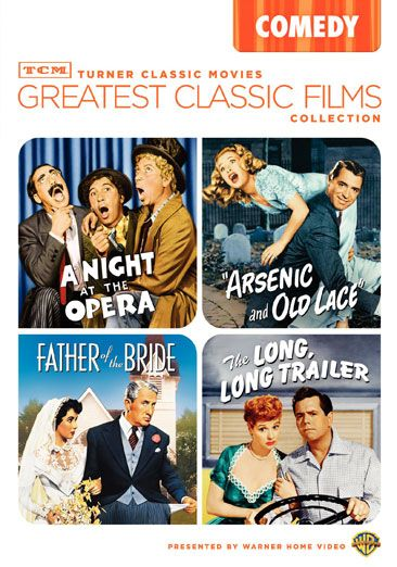 Arsenic and Old Lace / A Night at the Opera / The Long Long Trailer / Father of the Bride 1950