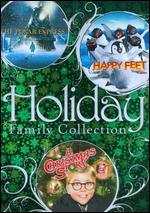 Holiday Family Collection: The Polar Express/Happy Feet/A Christmas Story [3 Discs]
