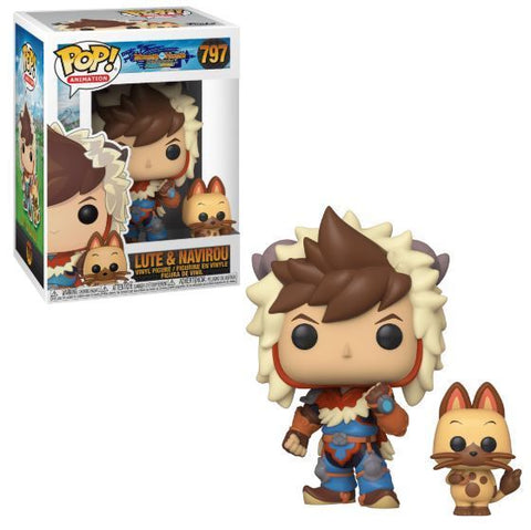 Funko Pop Animation: Monster Hunters Ride On - Lute with Navirou