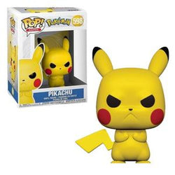 Funko Pop Games: Pokemon - Pikachu (Angry)