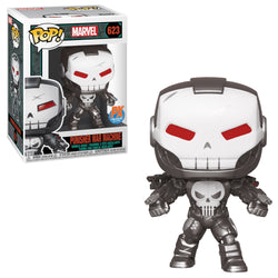 Funko Pop Marvel: Marvel Comics - Punisher War Machine (Metallic) (PX)