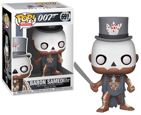 Funko Pop Movies: James Bond - Baron Samedi (Live And Let Die)