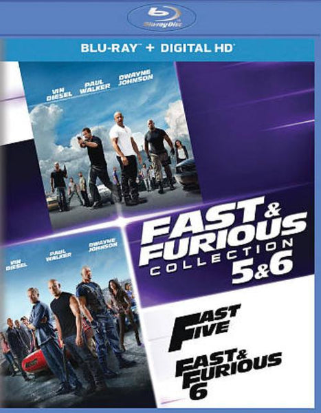 Fast & Furious Collection 4 - 6