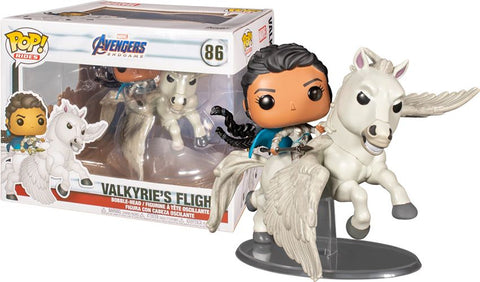 Funko Pop Rides: Marvel Avengers Endgame - Valkyrie on Horse (Valkyrie's Flight)