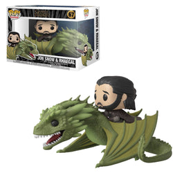Funko Pop Rides Game Of Thrones: Game Of Thrones - Jon Snow & Rhaegal