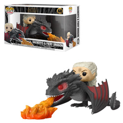 Funko Pop Rides Game Of Thrones: Game Of Thrones - Daenerys & Fiery Drogon