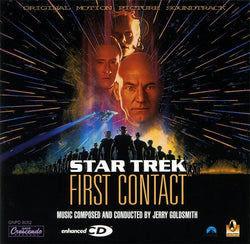 Jerry Goldsmith ‎– Star Trek: First Contact (Original Motion Picture Soundtrack)