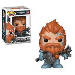 Funko Pop Games: Warhammer 4000 - Space Wolves Pack Leader