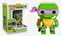 Funko Pop! 8 Bit - TMNT - Donatello
