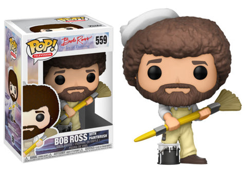 Pop! Television - Bob Ross The Joy Of Painting - Bob Ross with Paintbrush