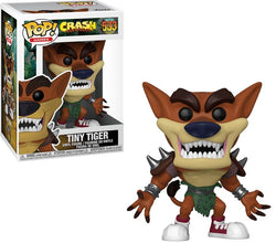 Funko Pop Games: Crash Bandicoot - Tiny Tiger