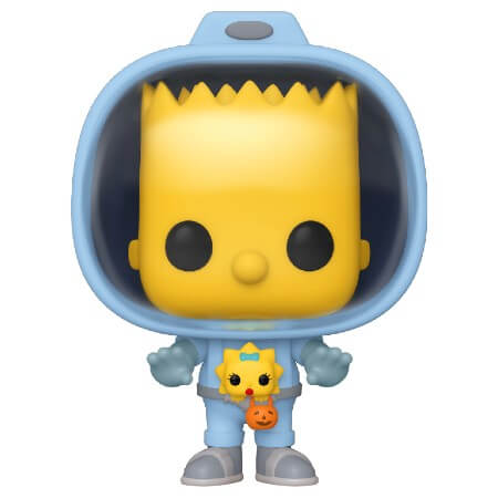 Funko Pop Animation: The Simpsons Treehouse Of Horror - Bart With Chestburster Maggie