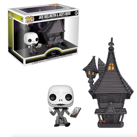 Funko Pop Town: Tim Burton's Nightmare Before Christmas - Jack Skellington & Jack's House