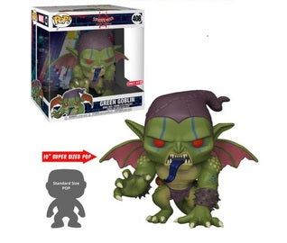 Funko Pop Marvel: Spider-Man Into The Spider-Verse - Green Goblin (10-Inch) (Target)