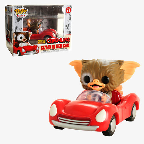 Funko Pop Rides: Movies Gremlins - Gizmo In Red Car (Hot Topic)