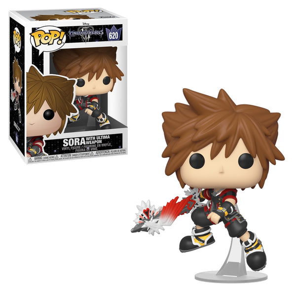 Funko Pop Disney: Kingdom Hearts - Sora (With Ultima Weapon)