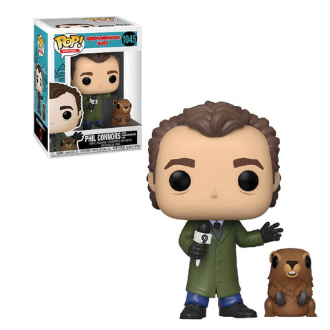 Funko Pop Movies: Groundhog Day - Phil with Punxsutawney Phil