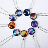 GALAXY PENDANT W/ NECKLACE - FREE OFFER - Free + Shipping