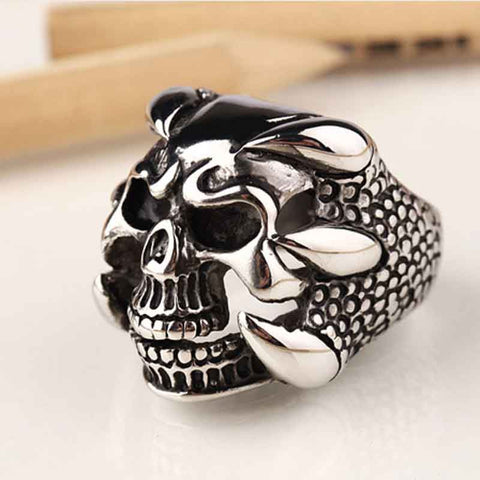 THE CLAW SKULL RING - SPECIAL OFFER