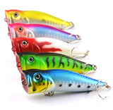 Vibration Popper Fishing Lures (5 Pieces)