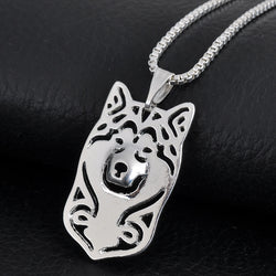 ALASKAN MALAMUTE PENDANT W/ NECKLACE - SPECIAL OFFER