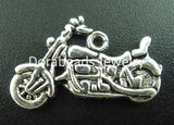 VINTAGE SILVER MOTORCYCLE CHARM - RETAIL