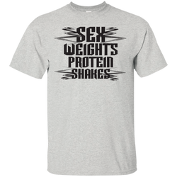 SEX, WEIGHTS, PROTEIN SHAKES T-SHIRT/HOODIE