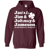 Jack & Jim & Johnny & Jameson The Four Fathers Of St Patricks Day T-Shirt & Hoodie