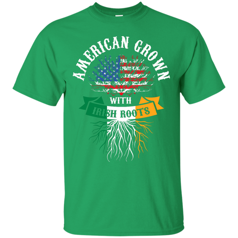 American Grown With Irish Roots T-Shirt and Hoodie