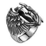 STAINLESS STEEL ARCHANGEL WINGS RING - SPECIAL OFFER