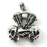SKULL ENGINE PENDANT - SPECIAL OFFER