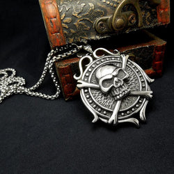 SKULL PENDANT MEDALLION - SPECIAL OFFER