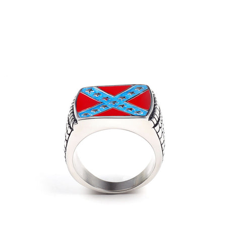 REBEL FLAG RING SuperNinjaBargains