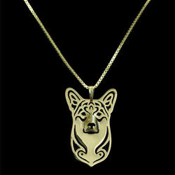 WELSH CORGI DOG PENDANT W/ NECKLACE - SPECIAL OFFER