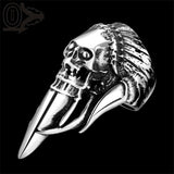CHIEF SKULL KNIFE RING - SPECIAL OFFER