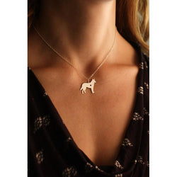 GERMAN SHEPHERD PENDANT WITH NECKLACE - SPECIAL OFFER