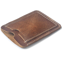 Men's Slim Leather Card Holder