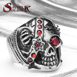 CROWNED SKULL RING - SPECIAL OFFER