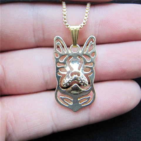 BOSTON TERRIER PENDANT W/ NECKLACE - SPECIAL OFFER