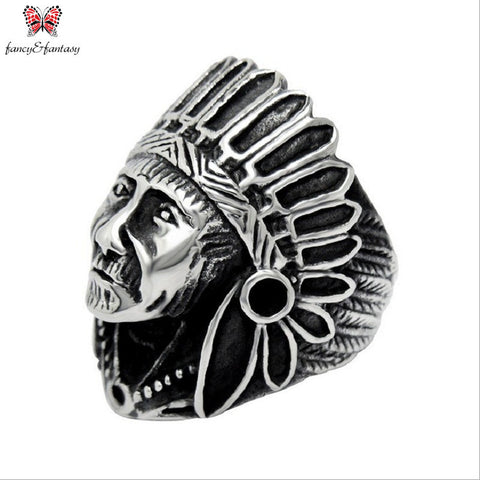 STAINLESS STEEL CHIEF RING - FREE OFFER - Free + Shipping