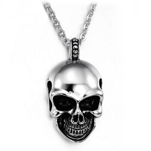 SKULL PENDANTS WITH CHAIN - SPECIAL OFFER