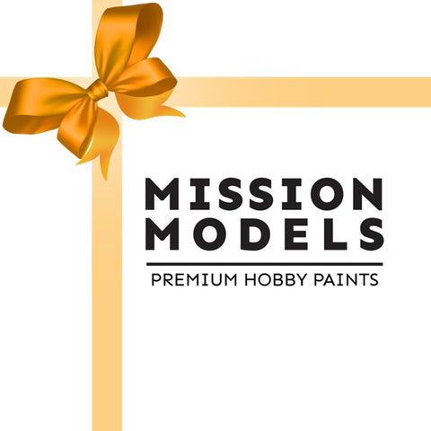 Gift Cards for Missionmodelsus.com / $25 - $500 available
