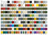 2020 Color Chart