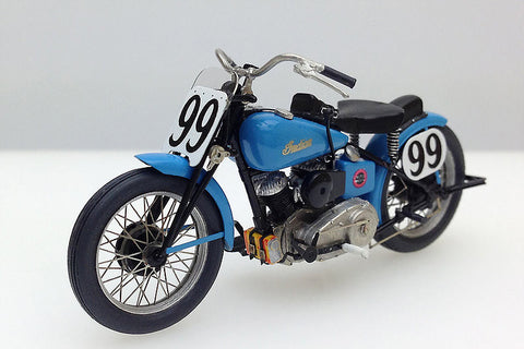 1/35 Indian 648 Big base Scout 1948 Daytona Winner Floyd Emde