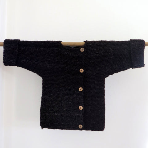 Jacket with Off Centre Buttons