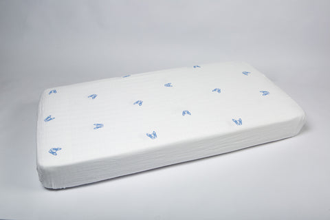 French Bulldog Fitted Cot Sheet