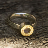 "& Pop brass ""Pin out bullet Ring"""